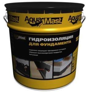 Мастика для гидроизоляции фундамента AquaMast