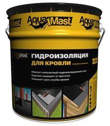 Мастика для гидроизоляции кровли AquaMast
